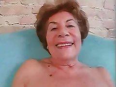 Anal, Angespritzt, Deutsch, Oma