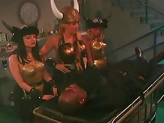 Cosplay, Double Penetration, Group Sex, Lesbian