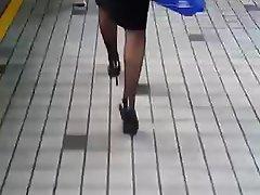 Asian, Chinese, MILF, Stockings