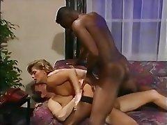 Double Penetration, Group Sex, Hairy, Pornstar
