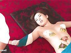 Asiatique, Célébrité, Japonaise, Petits seins