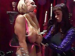 BDSM, Lesbian, Big Boobs, Blonde