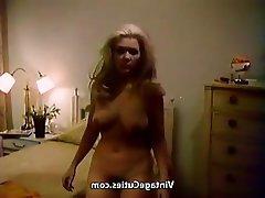 Big Boobs, Blonde, Masturbation, Vintage
