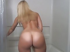 Big Butts, Blonde, Close Up, Masturbation