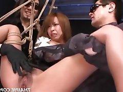Asian, BDSM, Bondage, Hairy