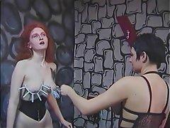 Lesbian, BDSM, Redhead, Femdom