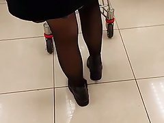 Chinese, MILF, Stockings