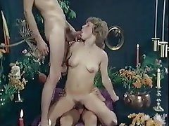 Nerd, Double Penetration, Facial, Threesome