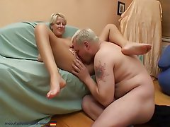 Amateur, Blonde, Blowjob, German