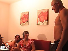 Blowjob, German, Brunette, Amateur