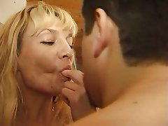 Anal, Blonde, French