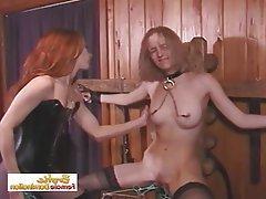BDSM, Bondage, Lesbian, Spanking
