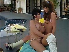 Big Boobs, Brunette, Lesbian