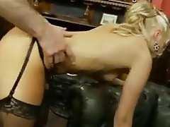Blonde, Blowjob, British, Cumshot