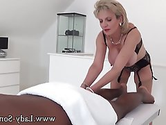 Big Boobs, Handjob, Interracial, Massage