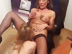 Amateur, Cunnilingus, French, Lesbian