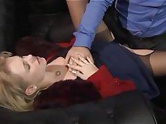 Blonde, CFNM, Lingerie, Orgasm