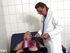 Anal, Blowjob, Doctor, German