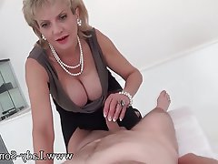 Big Boobs, British, Handjob, Massage