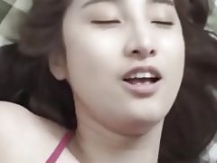 Asian, Big Boobs, Footjob, Korean