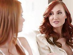 Lesbian, Mature, MILF, Redhead