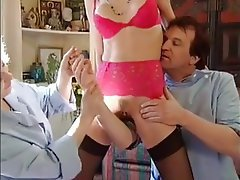 Pornstar, Group Sex, Vintage, French