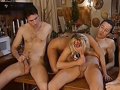 Anal, Blonde, Blowjob, Czech