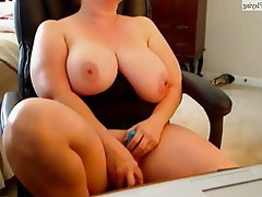 BBW, Big Boobs, Masturbation, MILF