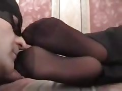 Italian, Amateur, Foot Fetish, Pantyhose