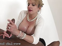 Big Nipples, Blowjob, British, Interracial