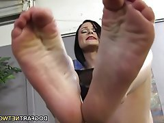 Cumshot, Foot Fetish, Footjob, Hardcore