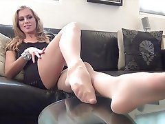 Foot Fetish, Pantyhose, Stockings, Pantyhose