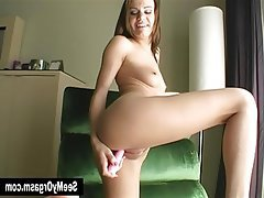 Amateur, Brunette, Masturbation, Softcore