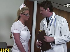 Anal, Blonde, Blowjob, Doctor