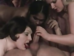 BBW, Blowjob, Cumshot, Group Sex