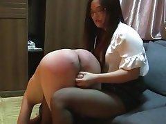 Asian, BDSM, Femdom, Spanking