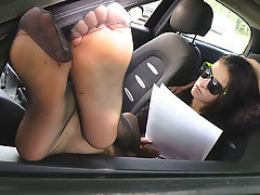 Foot Fetish, Pantyhose