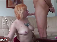 Teen, MILF, Old and Young, German