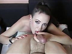 Teen, Handjob, MILF, Ass Licking