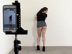 Teen, Boobs, Nudist, Webcam