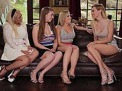 Lesbian, Lesbian, Teen, Cunnilingus, Cunnilingus