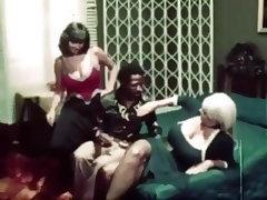 Vintage, Interracial, Retro