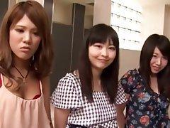 Asiatique, Femme dominatrice, Gangbangs, Japonaise