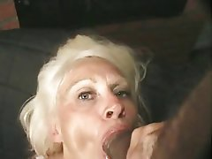 Anal, Blowjob, Angespritzt, Oma