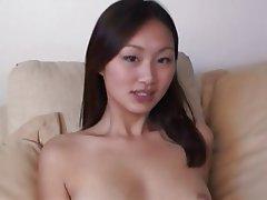 Asian, Cumshot, Foot Fetish, Interracial