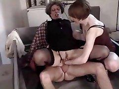 Anál, Babičky, Tvrdé sex, Zralé ženy