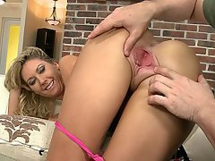 Babe, Blonde, Blowjob, Doggystyle