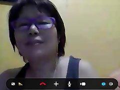 Asian, Masturbation, Mature, Webcam