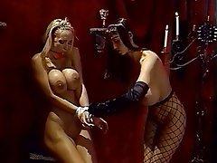 BDSM, Lesbian, Blonde, Brunette