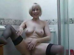 Masturbation, Mature, MILF, POV